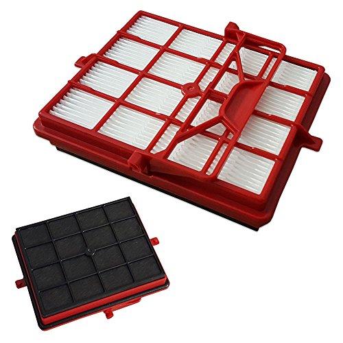 Staubbeutel24 SBKOHINT - Filtro de carbón HEPA para aspiradora Lux Intelligence Royal Edition, tipo AP11, color rojo