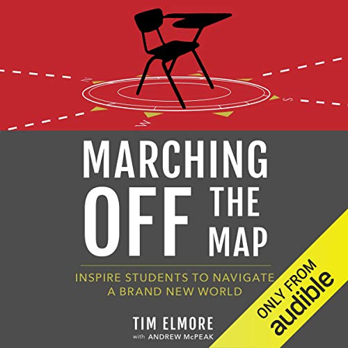 Marching off the Map audiobook cover art