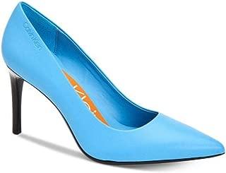 Calvin Klein Women's Rizzo Pump, Academy Blue Nappa, 10 M