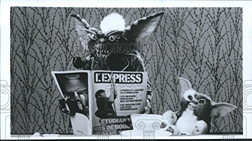 Vintage Photos 1992 Press Photo Stripe and Gizmo in a Scene from Gremlins spp16978