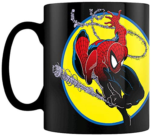 Marvel SCMG25429 Spider-Man - Taza termosellante (315 ml), diseño de Spider-Man