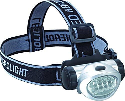 bcalpe torcia testa LED, Argento