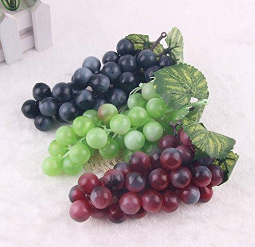 NiceButy 3pcs Decorativa Artificial Plástico Frutas Casa Decoración del Partido