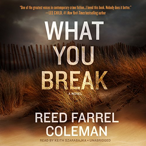 What You Break audiobook cover art