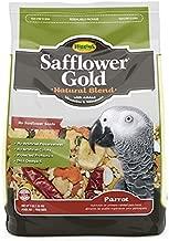 Higgins Safflower Gold Natural Food Mix for Parrots, 6 LBS