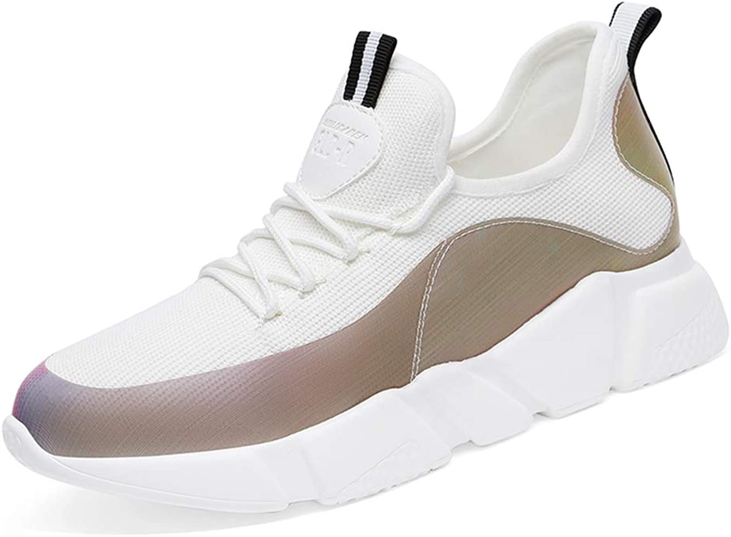 Zarbrina Women's Walking Sneakers Patchwork Low Top Lace up Round Toe Comfort Soft Foam Sole Casual shoes