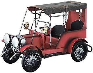 Red metal classic car home shop decor-20x13x9cm