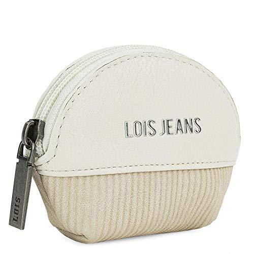 Lois - Kleine dames portemonnee Casual munthouder. Geschenkdoos. Mooi design van goede kwaliteit. Uniek modemerk en originele stijl. PU leer.