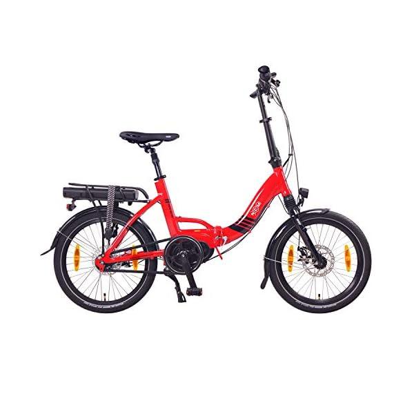 "51CPDeTIYZL. SS600  - NCM Paris MAX N8R / N8C E-Bike, E-Faltrad, 250W, 36V 14Ah 504Wh Akku, 20"" Zoll"