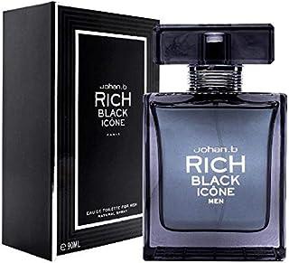 Rich Black Icone Perfume For Men 90 ML Eau De Toilette