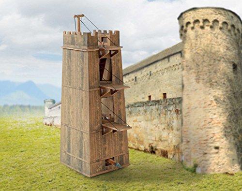 Belagerungsturm römischer Bastelbogen incl. kostenlosen römischen Lesezeichen - Forum Traiani - Archäologische Bastel Repliken - Imperium der Römer