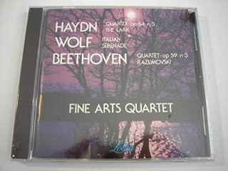 Fine Arts Quartet - Haydn Quartet op 64 no 5 in D; Wolf: Italian Serenade; Beethoven Quartet op 59 No 3 (Lodia)
