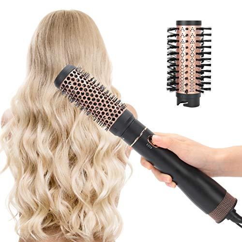 Multifunktionales Haartrockner Warmluftbürste, Lockenwicklerbürste, Haartrocknerkamm Haarstylingkamm Haarstylingwerkzeug Haartrocknerbürste kaltes Heißluftkamm Elektrisches Haarstyling Werkzeug