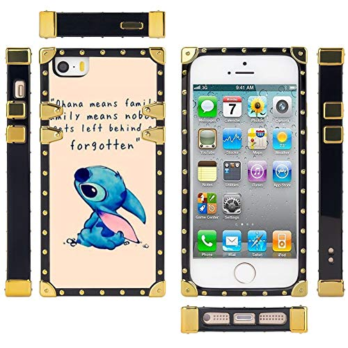 DISNEY COLLECTION Lilo Stitch Square Case Compatible for iPhone SE ...
