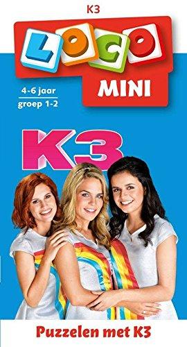 Loco 73022 Puzzelen met K3 Mini (9%), 48-72 mnd