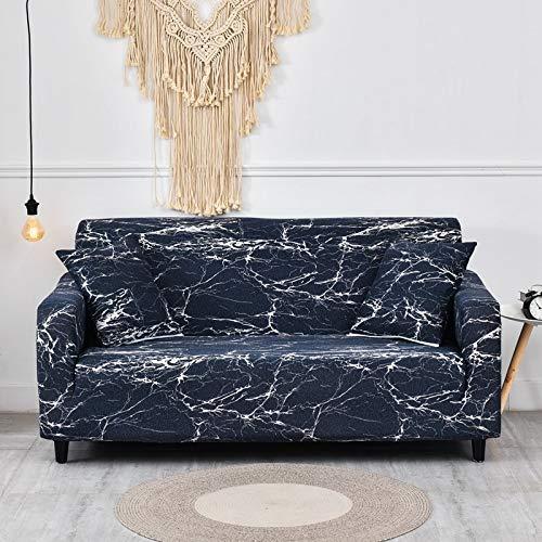 WXQY Geometrische Form elastische Sofabezug Wohnzimmer Haustier Sesselbezug elastische L-förmige Ecke Sofabezug Kombination A23 3-Sitzer