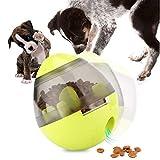 UIQELYS Iq Treat Ball, Pelota interactiva para Mascotas Pelota dispensadora de Comida para Perros y Gatos, Chew Ball Limpieza de Dientes Bola para Perros Rompecabezas Juguetes Alimentación Lenta