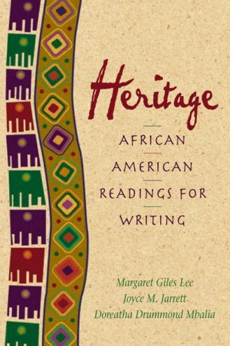 Heritage: African American Readings for Writers (2nd Edition)