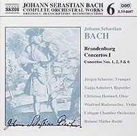 Bach Edition 6 - Bach: Brandenburg Concertos I (1,2,3 & 6) by J.S. BACH (2000-01-25)