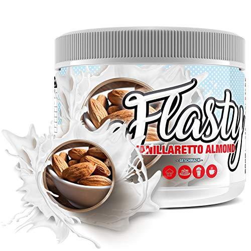 sinob Flasty Geschmackspulver (Vanillaretto Almond) 1 x 250g Kalorienarmes Flavour Pulver mit 'Nur ca. 7 kcal pro Portion' bringt es Leben in deinen Quark, Joghurt und vielem mehr.