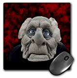 3dRose mp_53733_1 8 x 8 Old Man Costume Mouse Pad