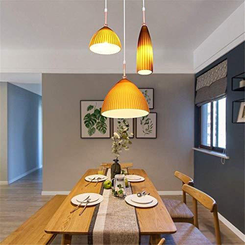 KK Gabby Restaurante Minimalista posmoderno Bar Lámpara de Mesa Dormitorio Lado de Noche Personalidad Creativa Vidrieras Decorativas Pequeño Araña de Cubierta