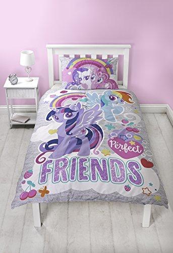 My little Pony Single Bettbezug 135x 200cm mit