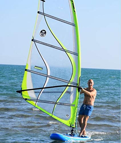 Inflatable Commercial Grade 0 9mm Pvc 12ft Sup Sailboat Windsurfing Paddle Surf Board New Buy Online In Burkina Faso At Desertcart Productid 187647913