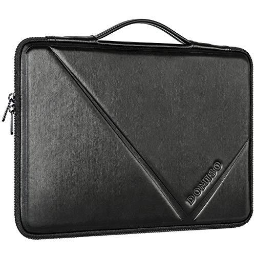 DOMISO 15-15,6 Zoll Wasserdicht Laptophülle Notebook Tasche Schutzhülle mit Handgriff für 15.6