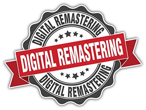 Digitale Remastering Stempel Bumper Sticker Vinyl Art Decal voor Auto Truck Van Window Bike Laptop