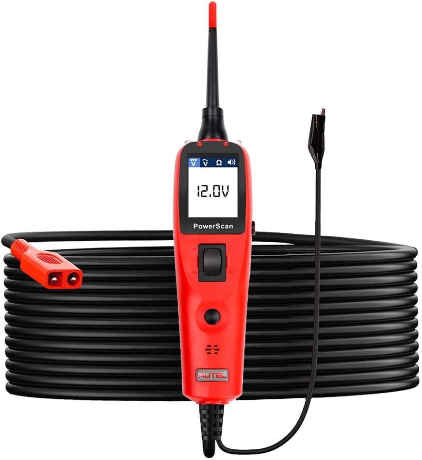 Autel PowerScan PS100sistema eléctrico herramienta de diagnóstico comprobador de circuito de automóvil