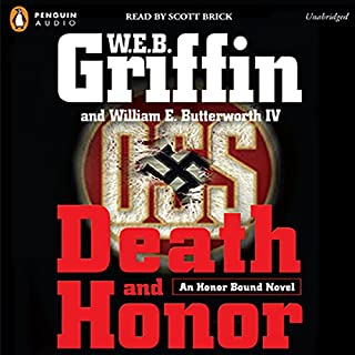 Death and Honor audiobook cover art