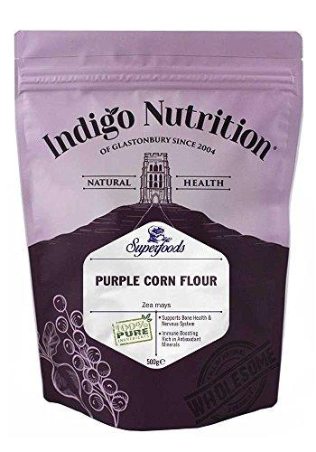Indigo Herbs Lila Mais Pulver 500g (Lila Maismehl)