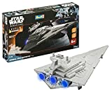 Revell Wars Build & Play Imperial Star Destroy, con Luces y Sonidos, Escala 1:4000 (6756)(06756)