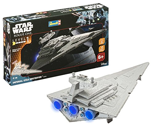 Revell- Wars Build & Play Imperial Star Destroy,...