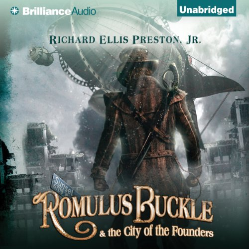 Romulus Buckle & the City of the Founders cover art