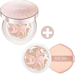 New in 2019 Season12 - Age 20's Essence Cover Pact LX 12.5g (0.44oz) include Refill - Korean Beauty Makeup (#23. Medium Beige)