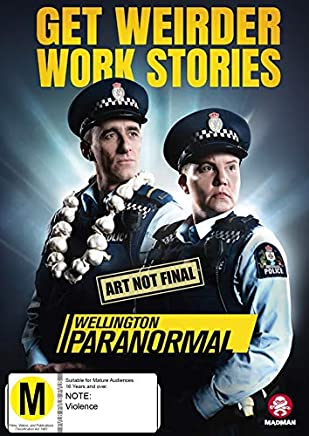 Wellington Paranormal (DVD) (ALL REGIONS) Jemaine Clement & Taika Waititi