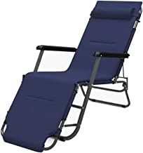 ZNBJJWCP Small Lazy Sofa Portable Household Foldable Recliner Office Simple Folding Single Break Nap Bed Lounge Chair