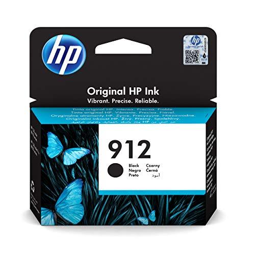 HP 912 (3YL80AE) Original Druckerpatrone (für HP OfficeJet Pro 8010, HP OfficeJet Pro 8020) schwarz