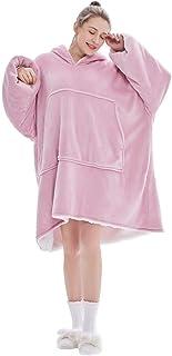 Übergroße Hoodie Sweatshirt, Original Decke Sweatshirt, super weiche gemütliche warme komfortable Riesen-Hoodie, Geeignet ...