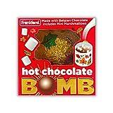 Belgian Hot Chocolate Melting Ball with Mini Marshmallows Inside, Cute Autumn Dessert Drink, 1.6 Ounce