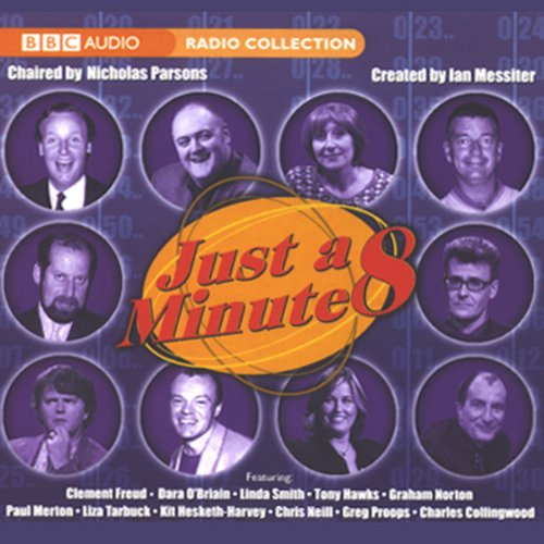 Just a Minute 8 audiobook cover art