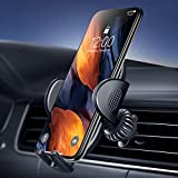 Car Phone Mount, UXD Car Phone Holders for Air Vent [Quick Release & Adjustable Clamp] Compatible with iPhone 12 11 Pro Max Xs XR X 8 SE Nexus Galaxy S20+ S10 S9 S8 S7 S6 S20 Note 10 9 Plus