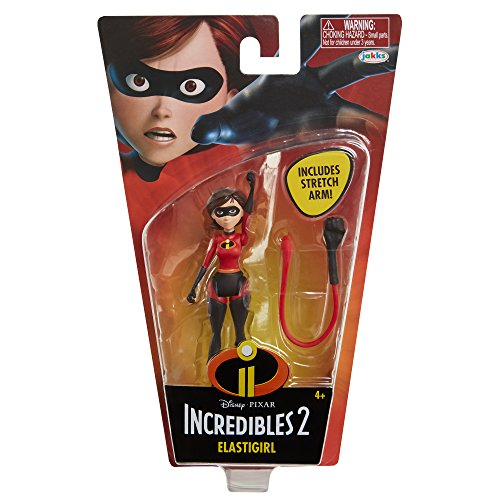 The Incredibles 2 Elastigirl 4-Inch Action Figure With Stretch Arm