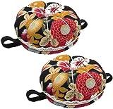 HAYUN 2 pinzas de muñeca con diseño de calabaza, para coser