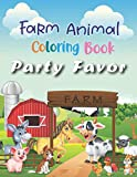 Farm Animal Coloring Book Party Favor: More than 50 Crazy and Cool Animal to Color by Kids Ages 3-8