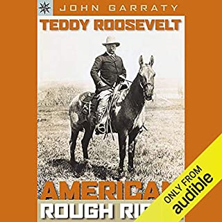 Teddy Roosevelt audiobook cover art
