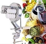 Pasta per Spaghetti in Lega di Alluminio Argento Cavatelli Fettuccine Noodle Press Machine Maker Cucina di casa Pasta Cooking Helper