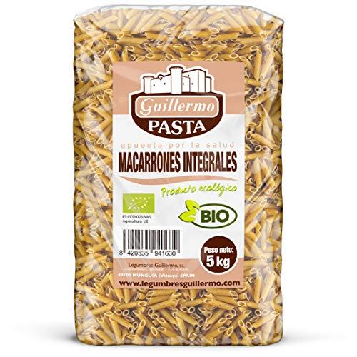 Guillermo Macarrones Integrales Ecológicos BIO Granel 5kg
